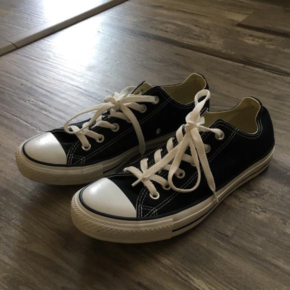Converse Black Unisex Men s 8 Women s 10 Sneakers 3248a0ab7